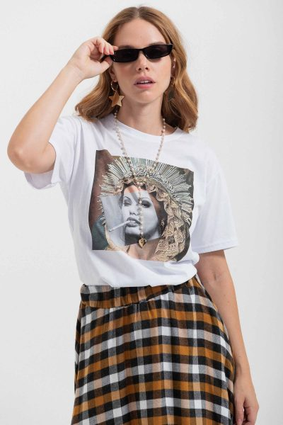 angelina collage tee