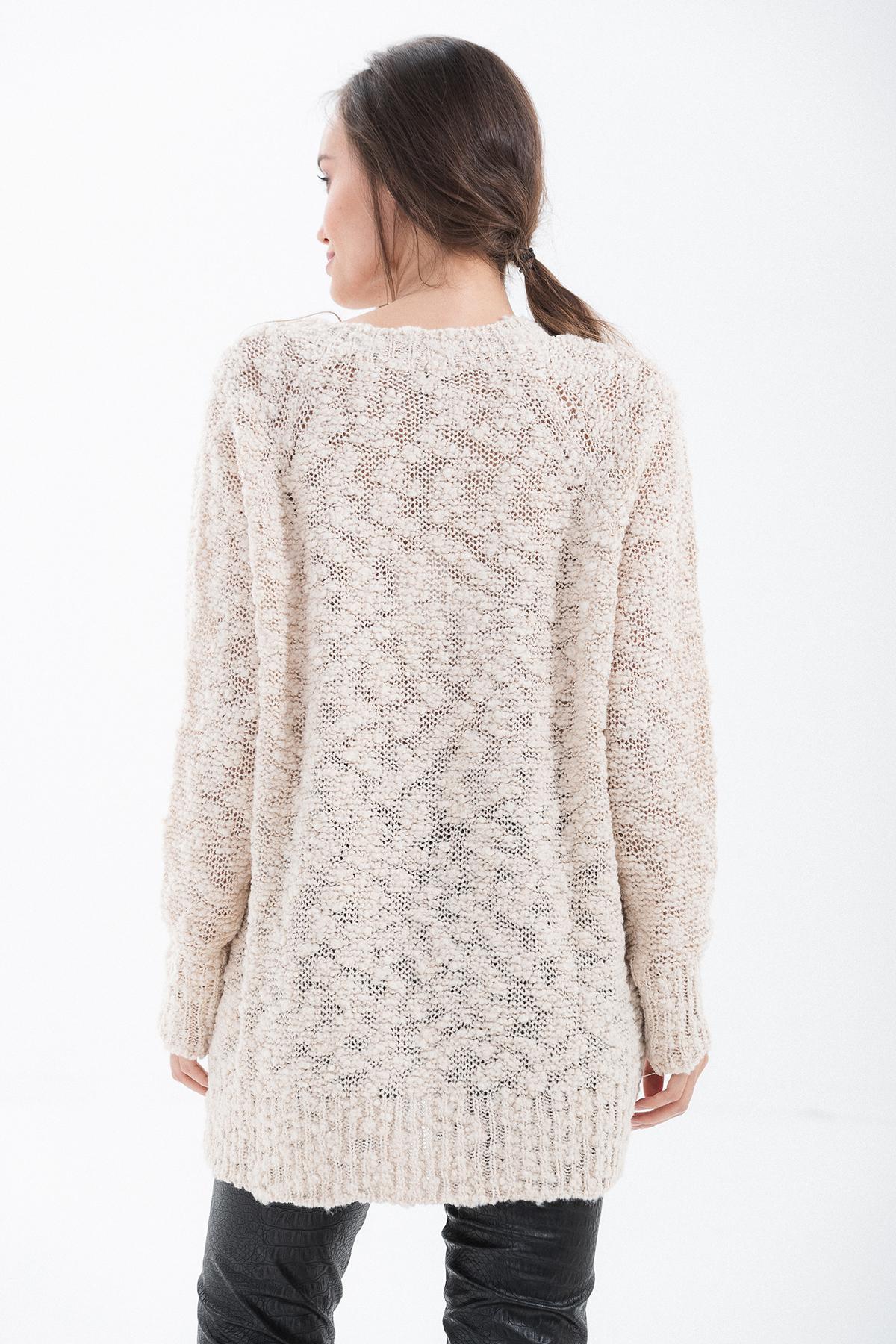 maglione scollo v over