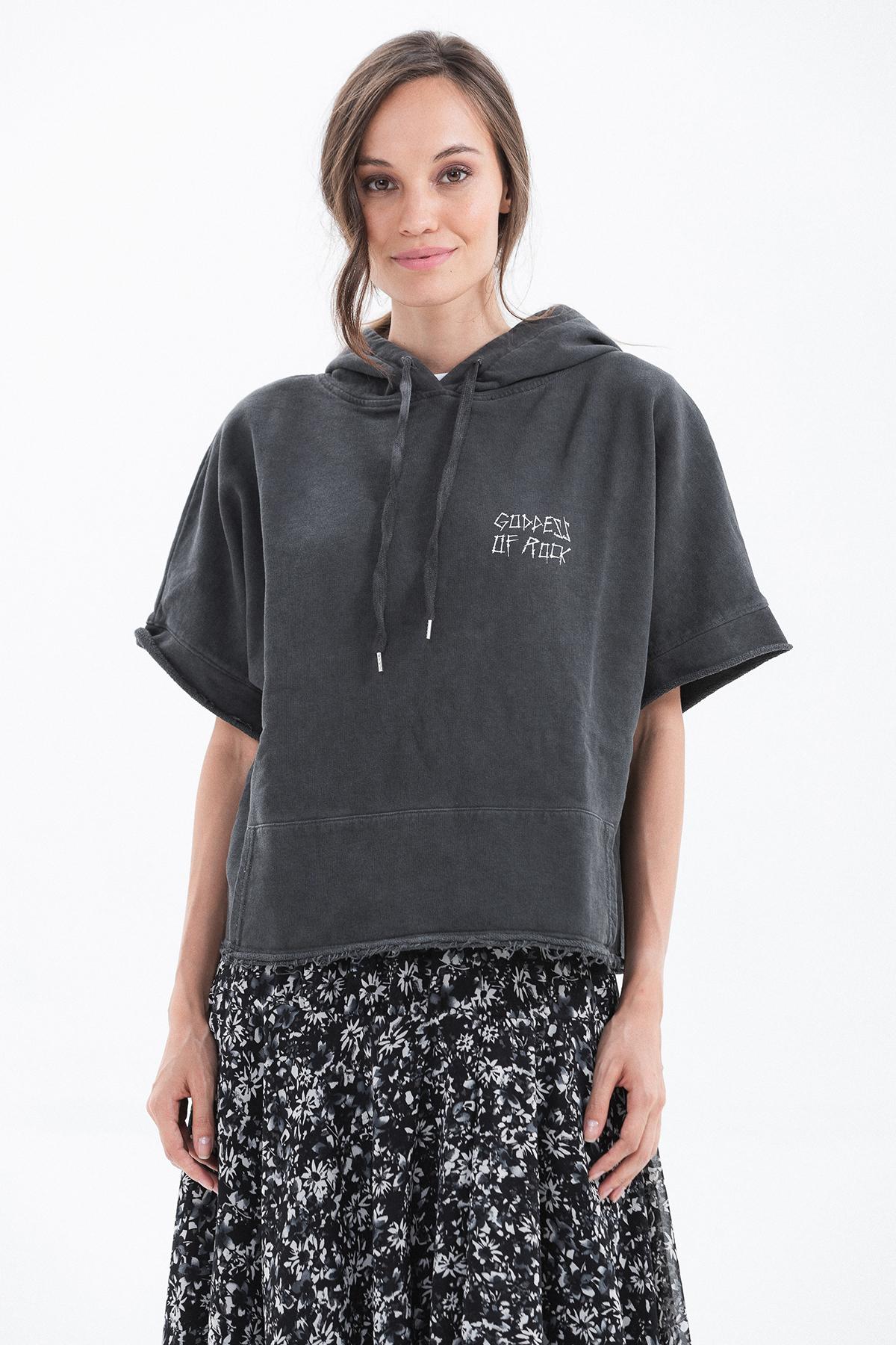 goddes of rock sweatshirt